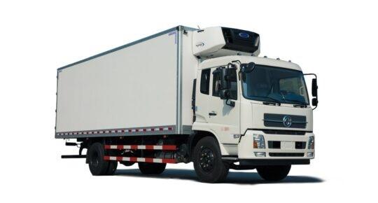 Автофургон DFH 5120 с промтоварным / изотермическим кузовом
