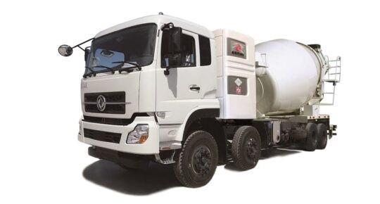 Четырехосный автомиксер CNG 12 куб.м
