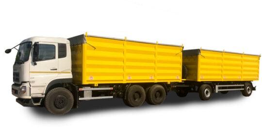 Автопоезд-зерновоз DFH 3330