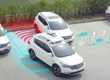 Самоуправляемые такси на базе электромоблией Dongfeng